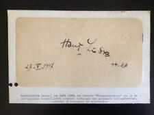 SIGNED HANS LISKA Famous German WWII Artist * Battle Scenes+++