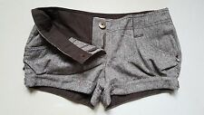 Women Papaya Brown Shorts Size 12 Hot Pants Summer Shorts Womens Shorts