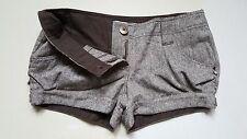 Women Papaya Brown Shorts Size 12 Hot Pants Summer Shorts Womens Shorts