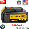 For DEWALT DCB206 20V 6.0Ah MAX XR Lithium Ion Battery-Pack DCB204 DCB205 DCB200