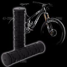 2x Black BMX OE Style Soft Rubber Bicycle Handle Bar Non Slip Grip Covers
