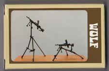 WOLF HORNET MODELS WAA 01 - 2x BREN GUN AND TRIPOD - 1/35 WHITE METAL