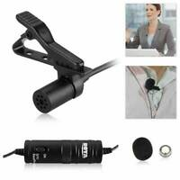 BOYA BY-M1 3.5mm Lavalier Clip-On Microphone for phone and DSLR Camera Camcorder