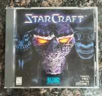 Vintage Starcraft PC Computer Game CD-ROM Disc 1998 Blizzard *TESTED WORKS*