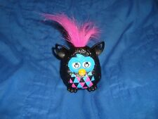 "Furby Boom Wild Hair Furby Mcdonalds #4 2013  PVC Figure 3"" tall"