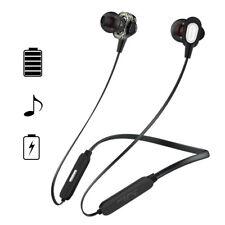 Dual Drivers Bluetooth Headphones Wireless Super Bass Earphone Handsfree Headset