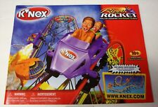 KNEX INSTRUCTION MANUAL ONLY #63166 Rippin Rocket Roller Coaster Book