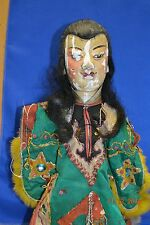 Antique Puppet Primitive Chinese  Elaborate Dress Unusual Rare Full Body #H