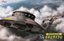 [Wave Hand&Head 042] Flying Saucers HAUNEBU 1/72 model kit, UFO/flying disk/Nazy