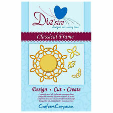 CRAFTER'S COMPANION Die'Sire Classical Frame Die Set - 4 Dies in Total