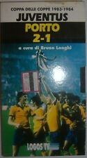 VHS - LOGOS TV/ CALCIO - COPPA DELLE COPPE 1983-1984/ JUVENTUS - PORTO 2-1