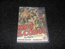 KING OF THE CONGO CLIFFHANGER SERIAL 15 CHAPTERS 2 DVDS
