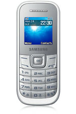 Samsung  Guru GT-E1200T - White - Mobile Phone