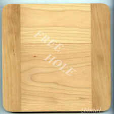 """1 Wooden Lensboard 8""""x8"""" for Deardorff 11""""x14"""" Solid Cherry, Undrilled/free hole"""