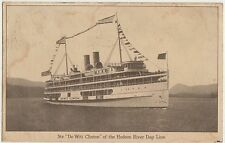 "STR. ""DE WITT CLINTON"" OF THE HUDSON RIVER DAY LINE - NAVE 1925"