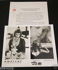 PJ HARVEY/PAVEMENT 'AMATEUR' 1995 SOUNDTRACK PRESS KIT--PHOTO