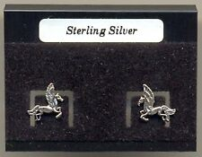 Pegasus Sterling Silver 925 Studs Earrings Carded