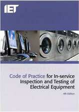 IET CODE OF PRACTICE FOR PAT TESTERS LATEST 4TH EDITION - LATEST Ed.