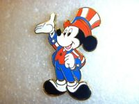 Disney's Americana Deluxe Starter Set - Yankee Doodle Mickey Mouse Pin Only