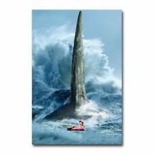The Meg Movie 22 Print Art Silk Poster