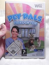 Wii - Pet Pals - Tierdoktor -  Nintendo - PAL - 7+ -  Komplett!