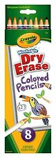 Crayola Washable Whiteboard Coloured Pencils - 8 pack in 8 Colours