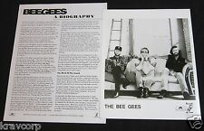 BEE GEES 'SIZE ISN'T EVERYTHING' 1993 PRESS KIT—PHOTO