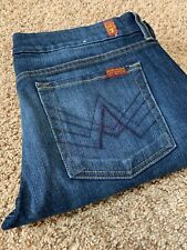 7 Seven For All Mankind - A Pocket 32 Jeans Bootcut Dark Wash