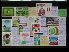 ITALIE,ITALIA '1973-94 **MNH LOT YT 34,5 EUR SPORT,COPPA,FOOTBALL,COUPE DU MONDE