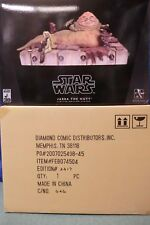 GENTLE GIANT STAR WARS JABBA THE HUTT RETURN OF THE JEDI DIORAMA  NEW