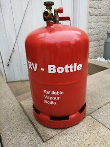 Gastankflasche Camping LPG wiederbefüllbare Gasflasche 11kg TÜV 2022 Gastank