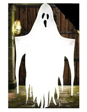 Grande 7 ft (approx. 2.13 m)/2.1 M Colgante de Decoración de Halloween De Utilería De Pantalla Lámina Blanca Fantasma