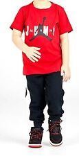 Nike Air Jordan Boys Outfit Tee & Jogger Pants Set Size 6
