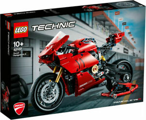 Brand New Lego 42107 Technic Ducati Panigale V4 R Motorcycle Sealed in Box