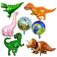 Giant Dinosaur Aluminum Foil Balloons Party Decor Photo Prop Kids Birthday Toys