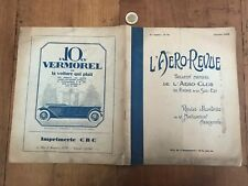l aero revue numéro 14 1927