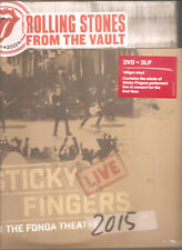 """THE ROLLING STONES """"Sticky Fingers At The Fonda Theatre"""" Vinyl 3LP + DVD sealed"""