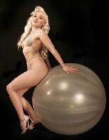 """10 х riesen ballons klar luftballon 27"""" große latex"""