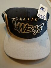 612576082f569 RARE Vintage Starter Dallas Cowboys Snapback Hat NFL 1990s with tags NWT  black