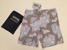 New w Tags & Bag Authentic Vilebrequin Ocean Swim Trunks in Blue for Men Size S