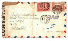 Canada Air WW2 UNDERCOVER ADDRESS *Polish Forces* London *Box 260/35* 1942 GJ153