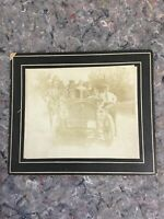 Early Automobile Photo with Group - 1908 PA License? - 4 Digit - Hanover, PA