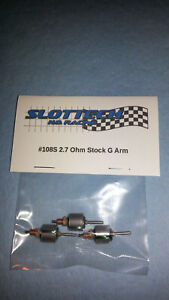 Slottech 2.7 Ohm Stock G Arms (3) AFX Viper BSRT Tomy