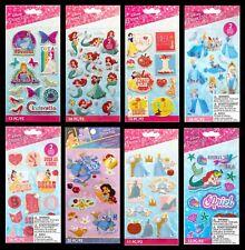 American Crafts Disney PRINCESS Stickers Cinderella Belle Ariel Snow White Genie