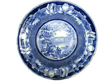 Antique Plate Foremark Derbyshire Sir Francis Burdett Reformer 1828 Transferware