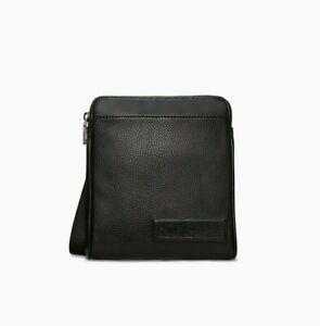 "Calvin Klein Men's CK  Business Casual Mini Flat Pack Bag Black 6""x8""x2"""