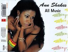 ANN SHAKES : ALL MUSIC / 4 TRACK-CD - TOP-ZUSTAND