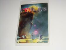 Pearl Jam 2000 Binaural Tour VIP Laminated Backstage Pass EDDIE VEDDER USA ROCK