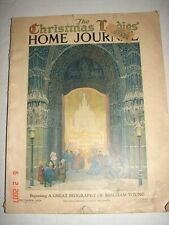1924 DECEMBER LADIES HOME JOURNAL MAGAZINE - CHRISTMAS ISSUE - GREAT ADVERTISING