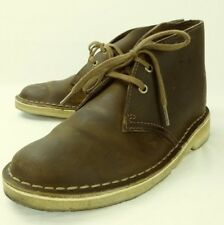 Clarks Originals Wos 11826 Boots Chukka US5 EUBrown Leather Crepe Sole 5337